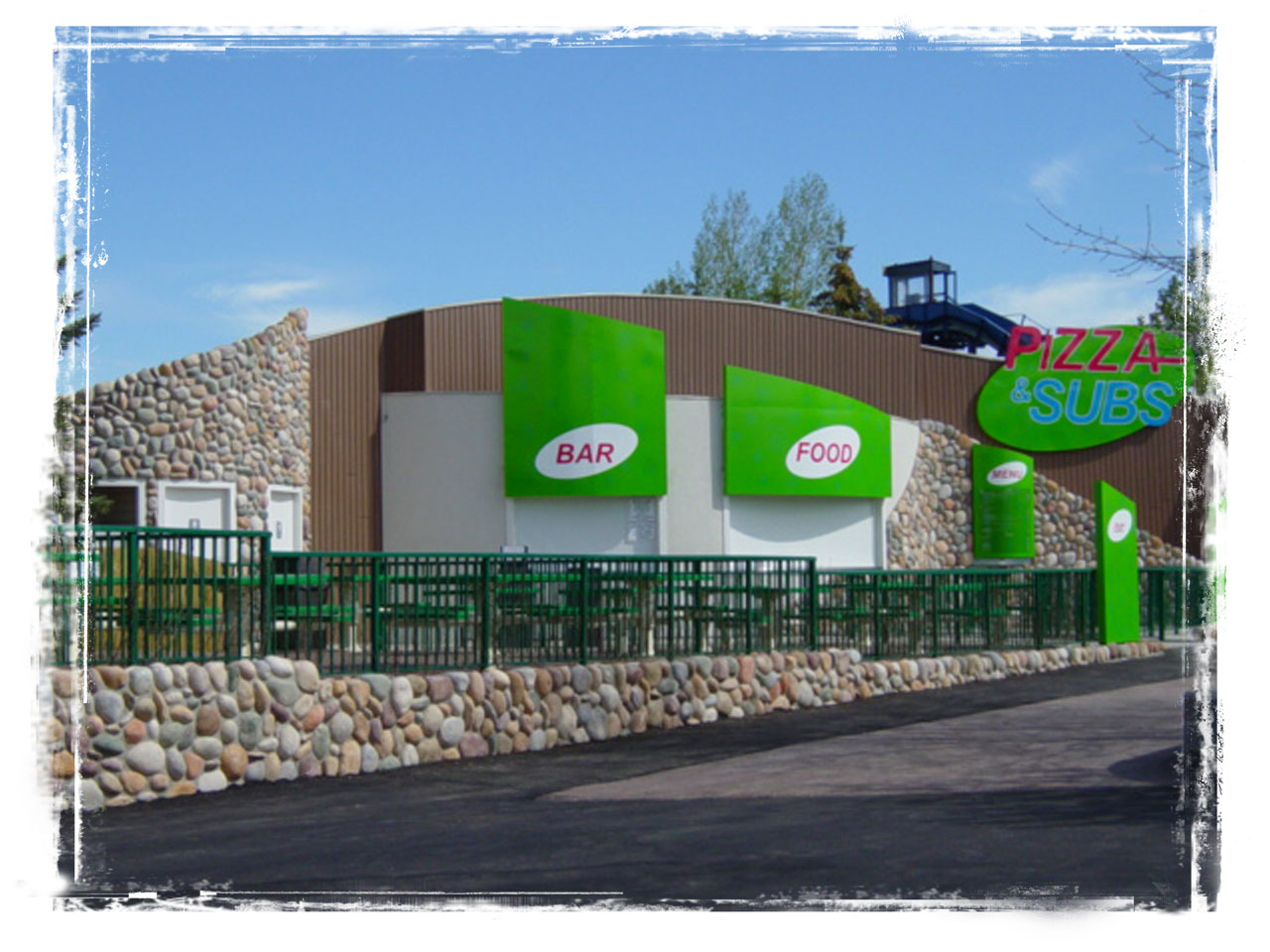 New construction of food building in Cochrane