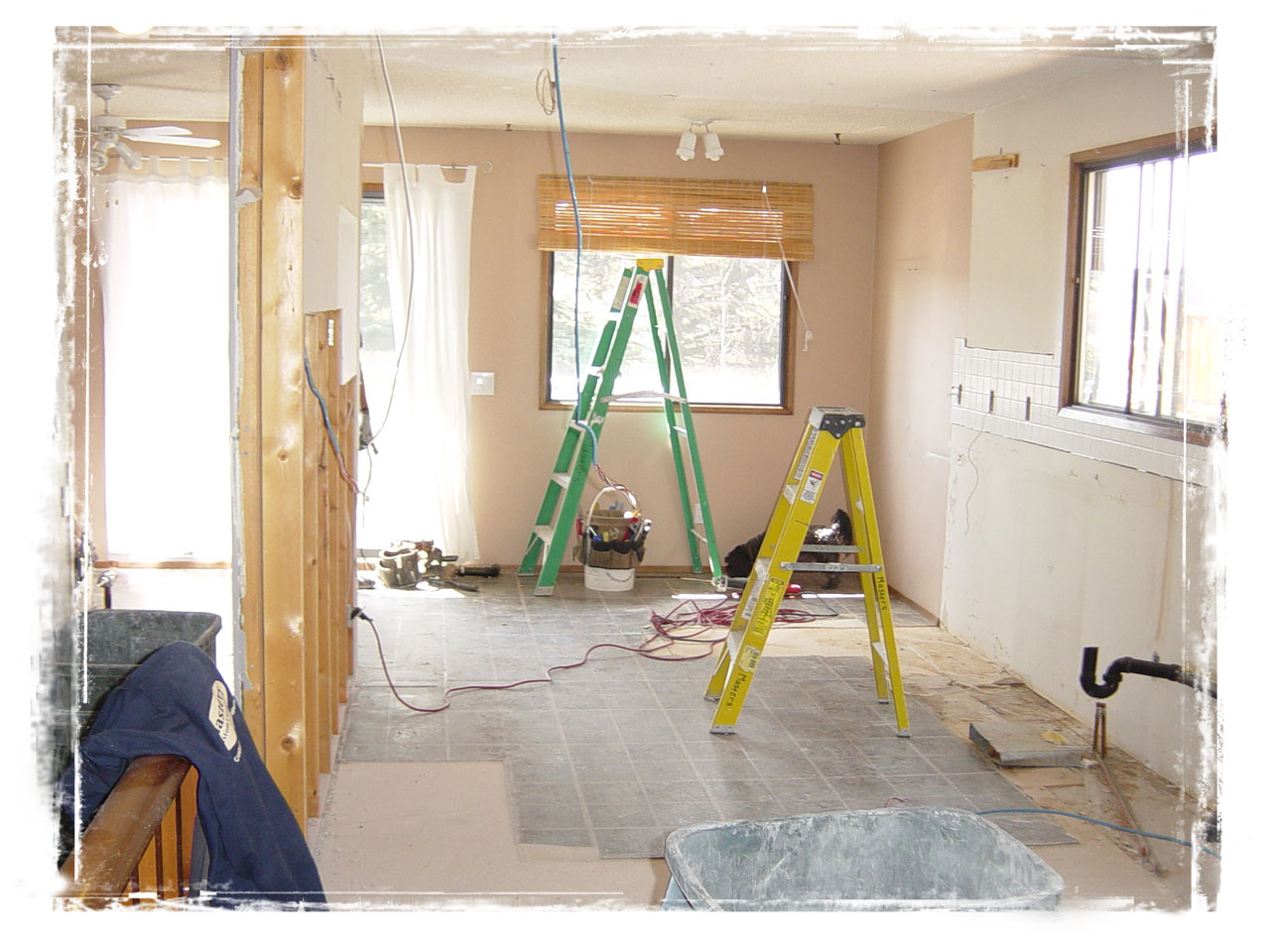 Whole home renovation in Cochrane