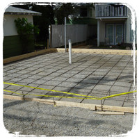 Pour Foundations, Driveways, Sidewalks or Pools