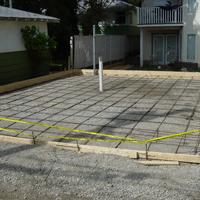 Pour Foundations, Driveways, Sidewalks or Pools
