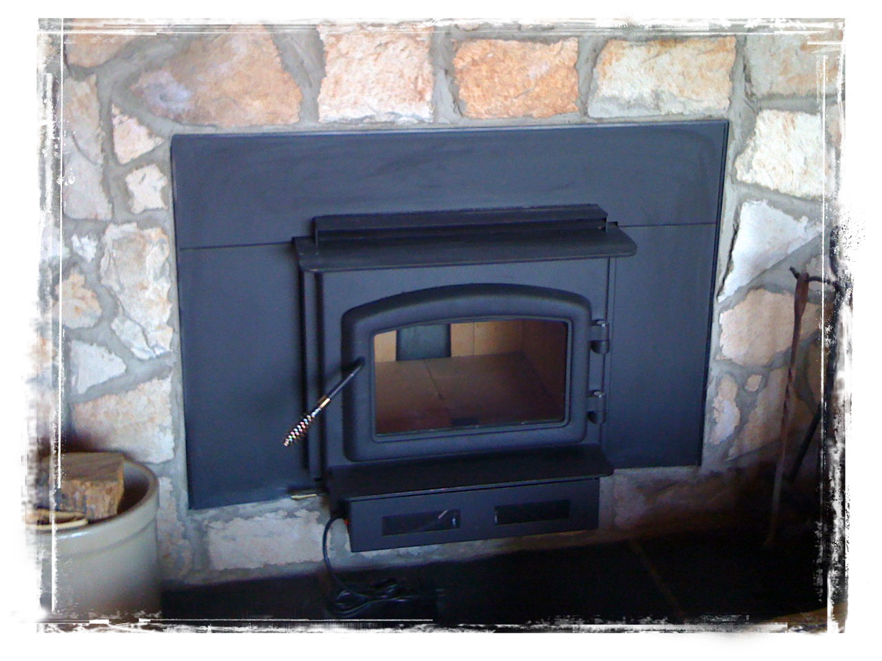 Wood Stove by Masters Group