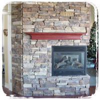 Fireplaces for heat and decoration